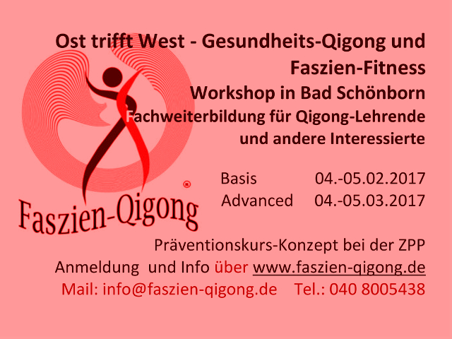 Workshop Faszien Qigong